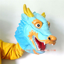 Factoy Hot sale Mask realistic latex Dragon head mask for parties