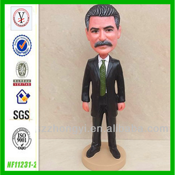factory custom OEM/ODM all famouse people Stalin bobble head making