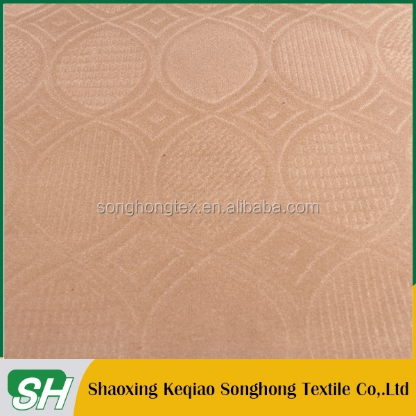 China supplier new fashion viscose/poly spray flocked sofa upholstery fabric/sofa cover fabric