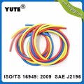 China manufacture high pressure SAE J2196 refrigerant charging hose with gauge