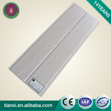 The mineral fiber board ceiling tiles used in outdoor