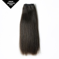 VV High Quality Hair Weave China Supplier Weft Unprocessed Straight Brazilian Remy Virgin Human Hair Extension