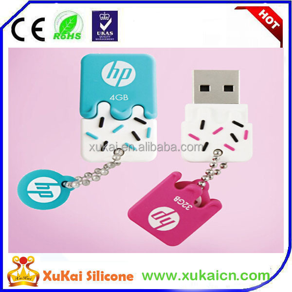 Ice cream shape hp usb flash disk/ usb stick with fragrance