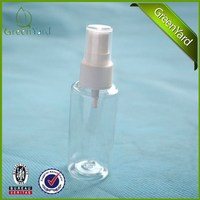50ml hot sale PP PE PET bottles with spray mister micro sprayer pump