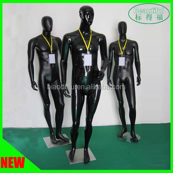 Hot Sale Fiberglass Mannequin Full Body Stand Modeling