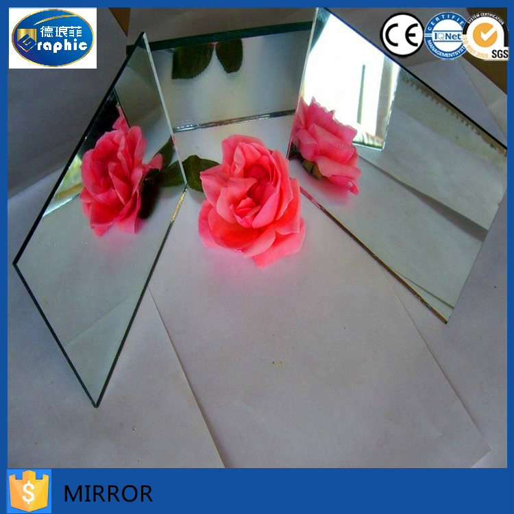 high quality safety mirror back with vinyl film and hanger hot sales