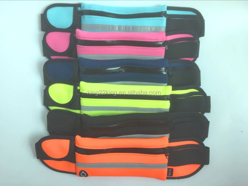 Nylon Material and Unisex Gender waist money belt