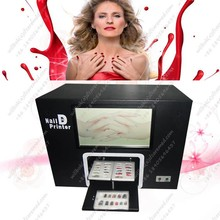 Fashion Digital nail art painting machine with computer
