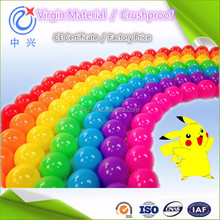 white red pink yellow blue green multi-coloured Plastic ball pit play ball