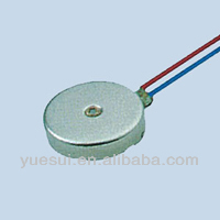 3 V DC coin type massage bed vibrating motor with 10mm