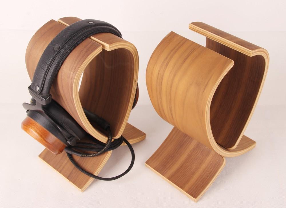 Yomega wooden headphone stands wooden earphone stands wooden headphone holder buy yomega - Wooden headphone holder ...