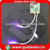 battery operated led shoes light YH-1038