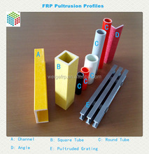 Chemical corrosion Pultruded fiberglass profiles