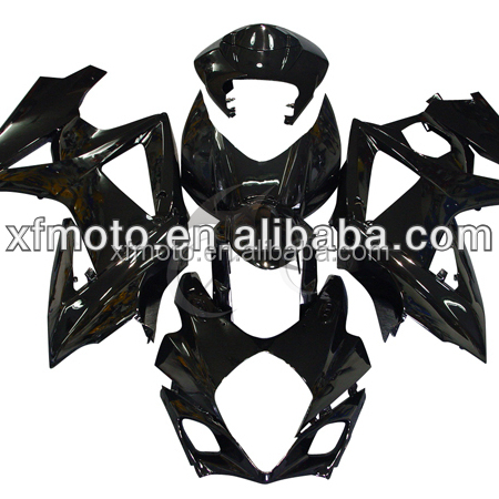 TCMT Black Injection ABS Plastic Fairing For Suzuki GSXR1000 GSX-R 1000 2007-2008