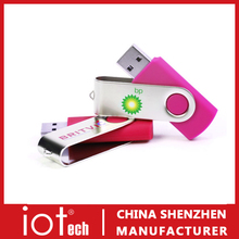 Full Capacity Low Price Logo Branded Twister Flash Drive Disk