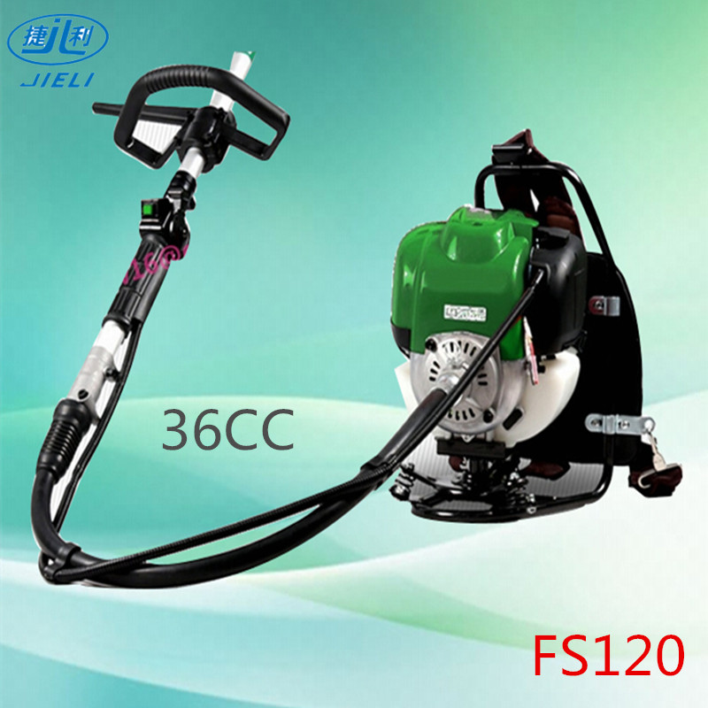 Good quanlity garden gasoline backpack Stihl FS120 brush cutter carburetor 37cc hand tool brushcutter