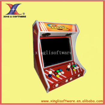 19 inch LCD Mini table top arcade machine /bartop arcade machine(install with Pandora's Box 3/ sanwa joystick/sanwa button)