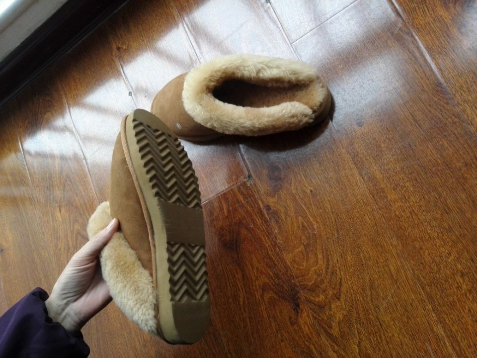 100% Australian sheepskin slippers with top quality/ladies sleeper