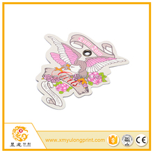 OEM design paper tags white cardboard gold hot stamping Professional high quality jewelry cards