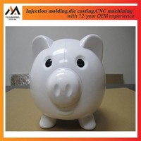 Plastic mould tooling maker Piggy Bank injection molding products