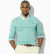 High quality bald men cashmere sweater fashion