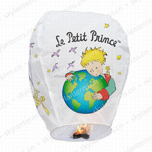La Petit Prince luminary paper eco friendly Sky Lanterns