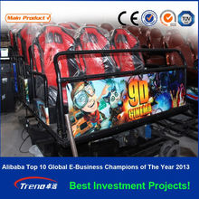 2014 newest electric dynamic 5d cinema theater with dinosaur cabin amusement rides for sale
