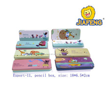 Custom pencil boxes metal pencil boxes for whole sales