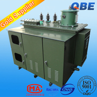 10kv 11kv on load changeable capacity oil type high voltage electrical step down transformer