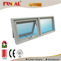 China supplier low-e glass Australia standard aluminum awning window