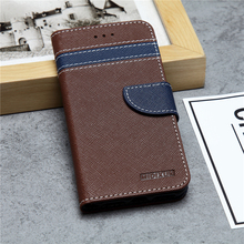 Customized multi-color magnetic leisure business leather phone case