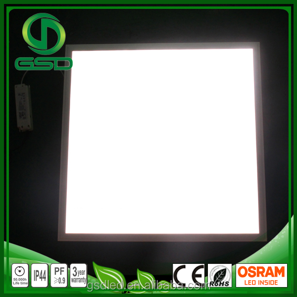 Best selling products flat ceiling light fixture led 600x600 ceiling office lighting thin led panel lamp 40w led panel light