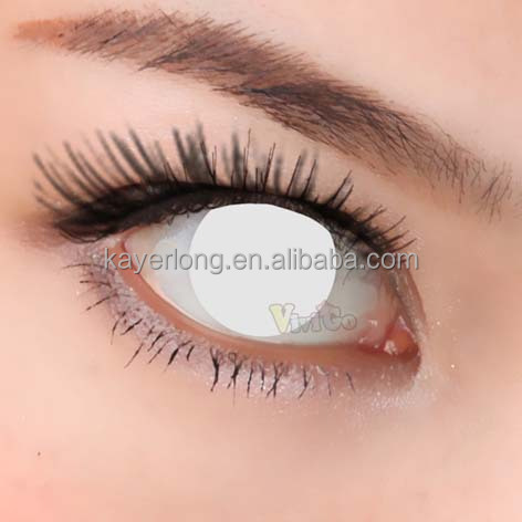 wholesale new arrival cosplay coloured contact lenses CL223 WHOLE WHITE