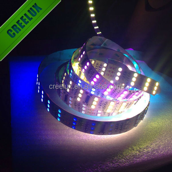 Magic color IC1812 144leds shenzhen supplier cristmas led decorations led strip light