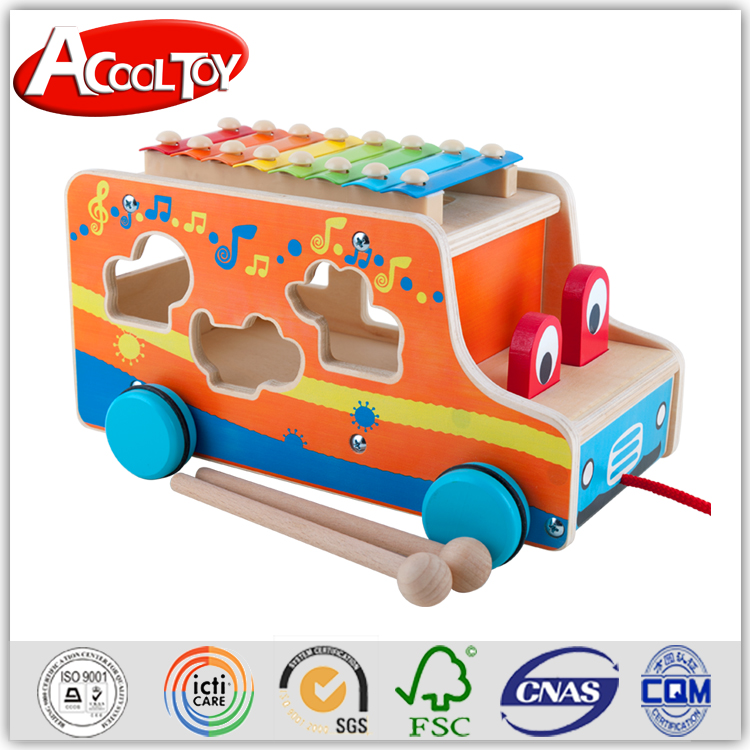 new products colorful made in china multifunction wooden car toy for game