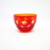 150ml Wholesale Red Colored Engraved Glass Tumbler Tea Cup