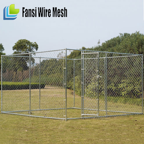 Excellent Quality Factory Direct Sales Galvanized Dog cage.