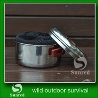 different moulds promotional stainless steel camping fire pot
