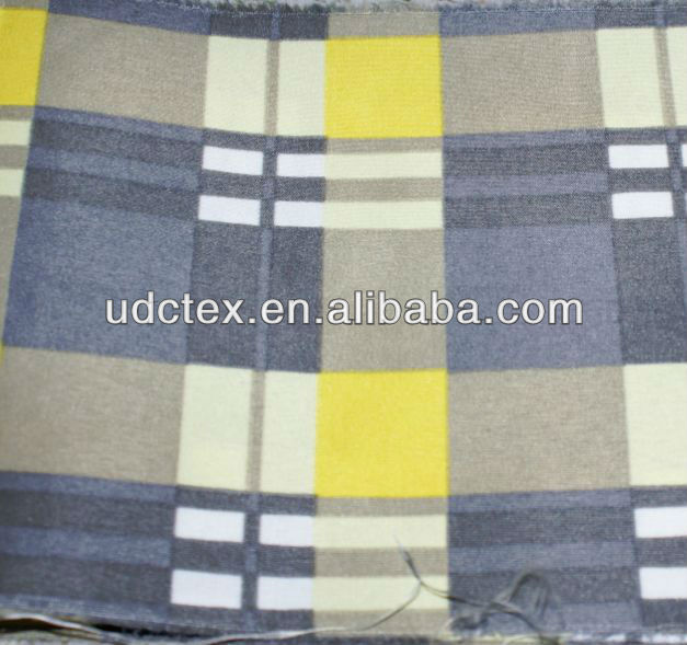 100% cotton woven shirt fabric for wholesale