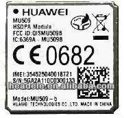 HUAWEI MU509 module wireless 3G WCDMA HSDPA modem 900/2100MHz GSM850/900/1800/1900MHz GSM850/900/1800/1900MHz