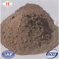 HX unshaped refractory materials eaf roof dry vibration refractory castable