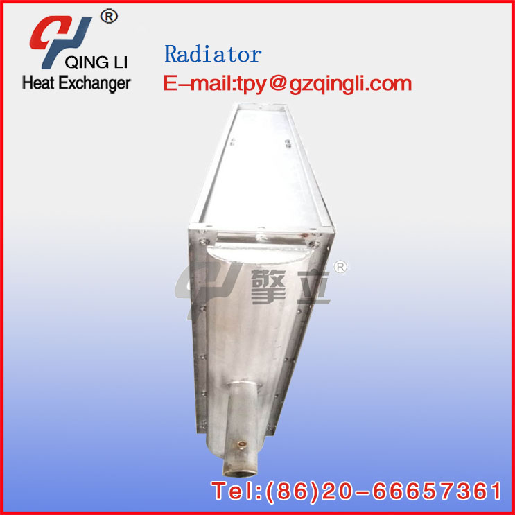 high intensity air to water heat exchanger with fan industrial air heat exchanger radiator
