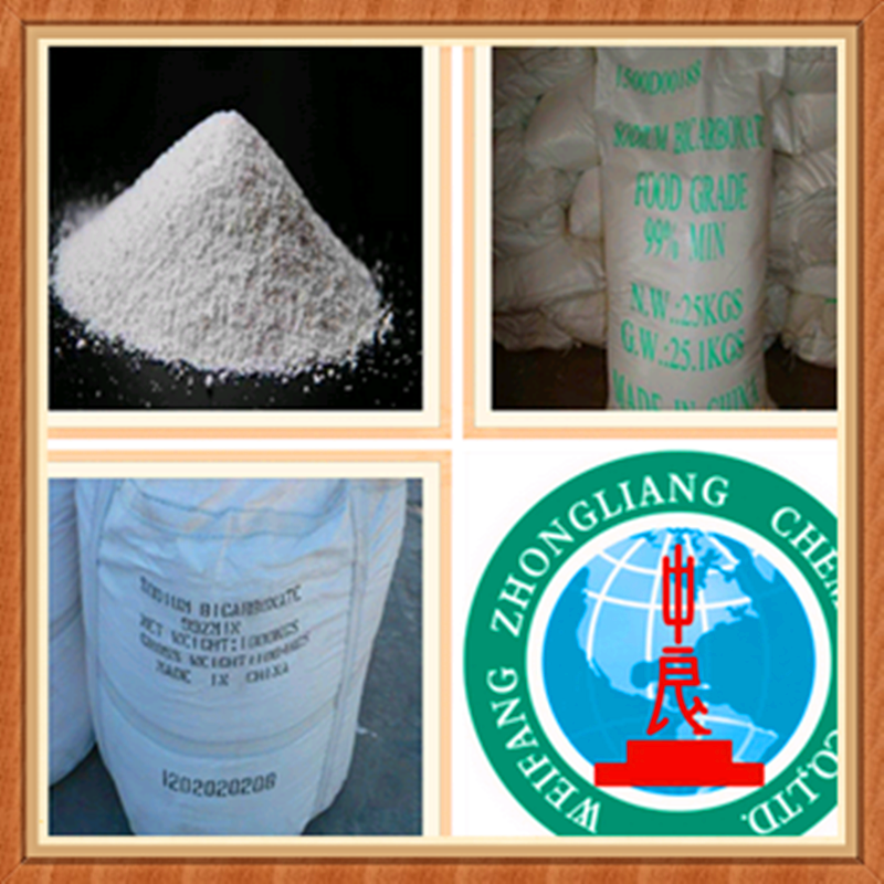 Manufacturer of sodium bicarbonate 99.8% NaHCO3