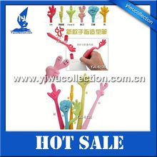 finger light up pens,bendable finger pen