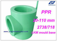 plastic ppr water pipe fitting made in China