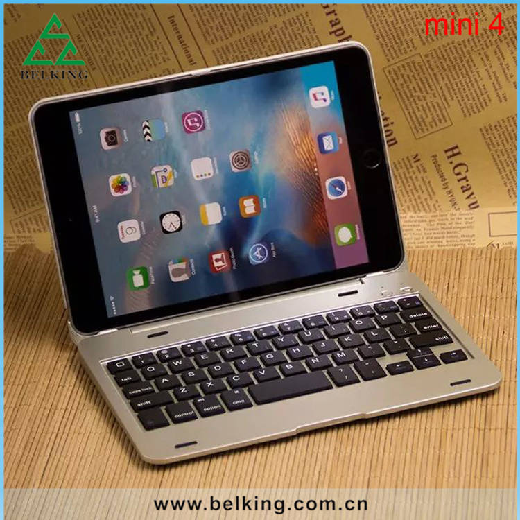 Hot Sale Tablet PC Bluetooth Keyboard For iPad Mini 4 Mini Keyboard Case