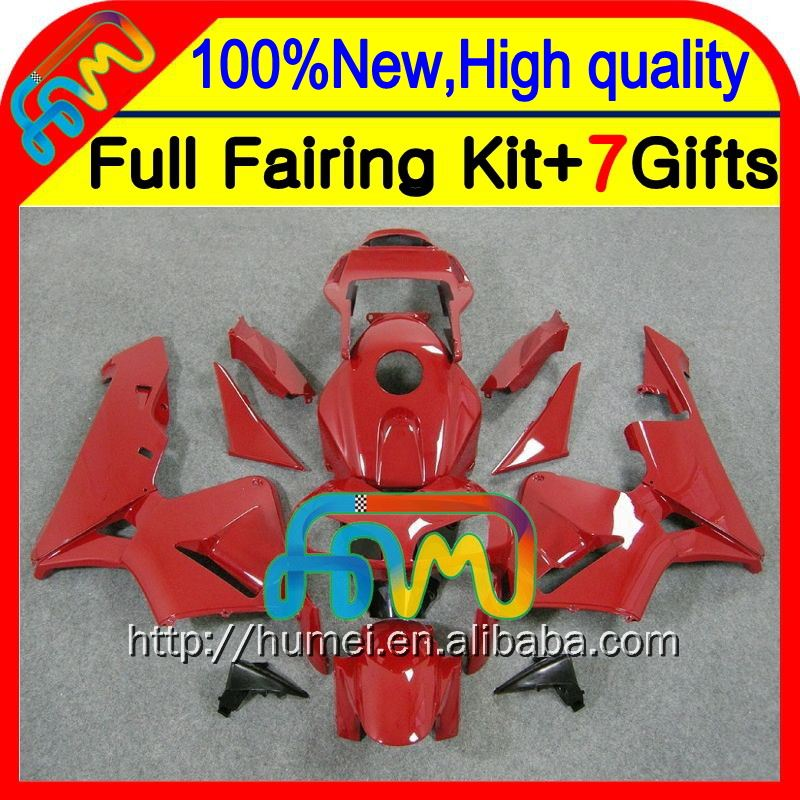 Body Injection For HONDA ALL Red CBR600RR 03-04 F5 24CL36 CBR600 RR ALL Glossy red CBR 600RR 600 RR 03 04 2003 2004 Fairing