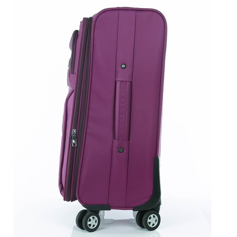 Unisex students 28inch 4 wheels trolley nylon luggage case suitcase