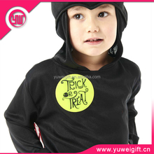 New arrival 3M reflective glow in the dark clothes sticker for kids