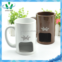 YSm0023 Round shape creative fragrance ceramic mug for Europe market